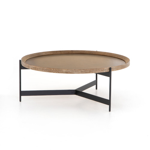 "16"" Four Hands Nathaniel Coffee Table - 1"