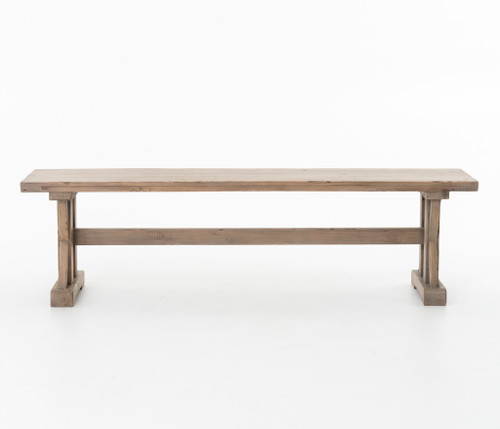 Tuscanspring Dining Bench-Sundried Whea