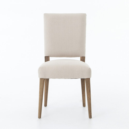 "36"" Four Hands Kurt Dining Chair - Dark Linen - 1"