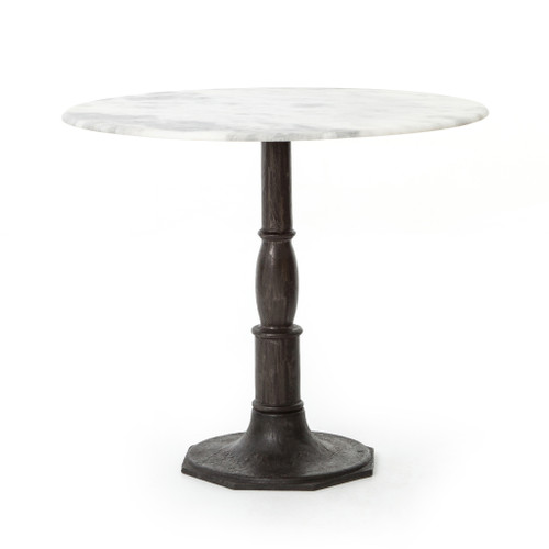 "Lucy Bistro Table-36""-Carbon Wash"