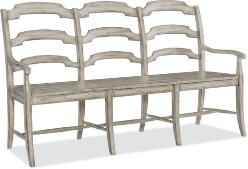 "41"" Hooker Furniture Boheme Du Monde Ladderback Dining Bench - 1"