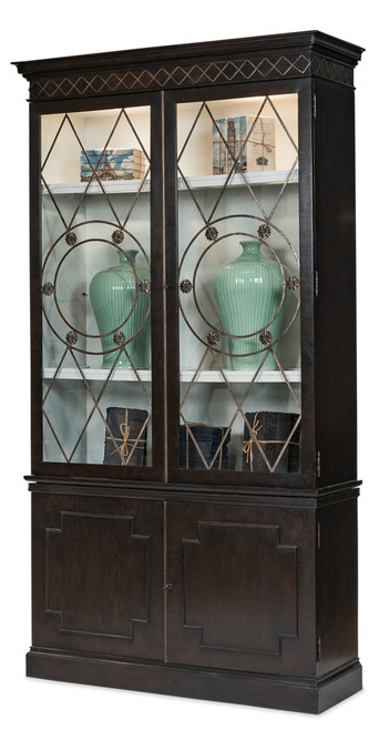 "104"" Sarreid Grafton China Cabinet - 1"