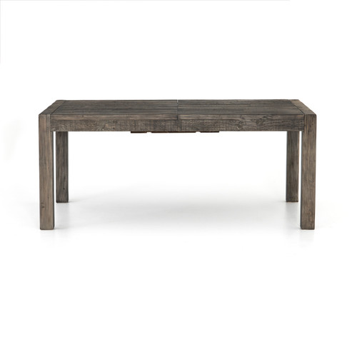 """Post & Rail 72"""" Ext Dining Table-Black O"""