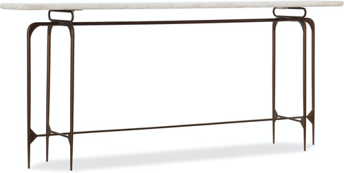 "34"" Hooker Furniture Living Room Skinny Metal Console - 1"