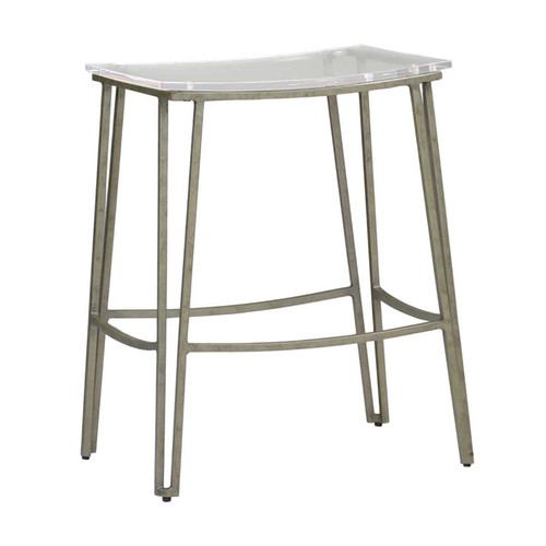 Gabby Home Pierce Counter Stool - Silver - 1