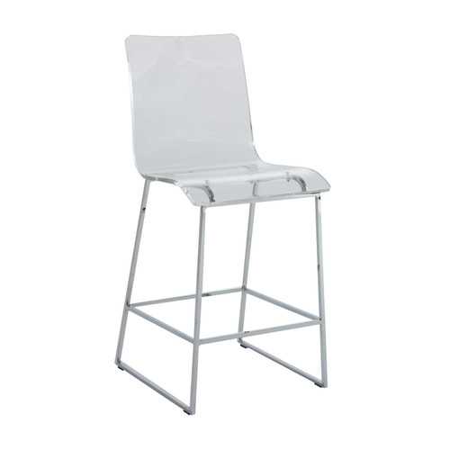 Gabby Home King Counter Stool - Chrome - 1