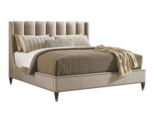 Barrington Upholstered Platform Bed 2