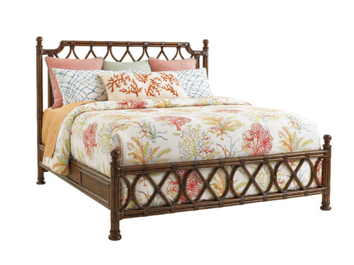Island Breeze Rattan Headboard 1