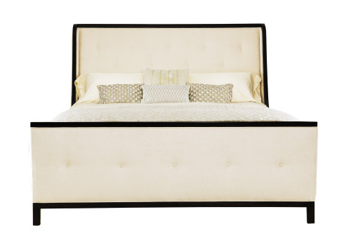 "Bernhardt 100"" Jet Set Upholstered Queen Bed Headboard -1"