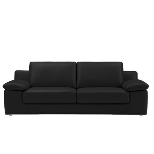 Alexandra Loveseat Black #55851 With Adjustable Arm Rest Cushions