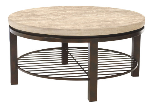 """Bernhardt 38"""" Freestanding Occasional Tempo Round Cocktail Table -1"""