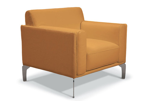 Vania Chair, Leather Cuoio 35608