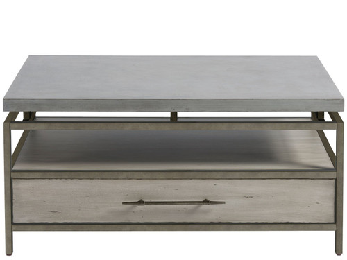 """36"""" Universal Furniture Curated Garrison Cocktail Table - 1"""