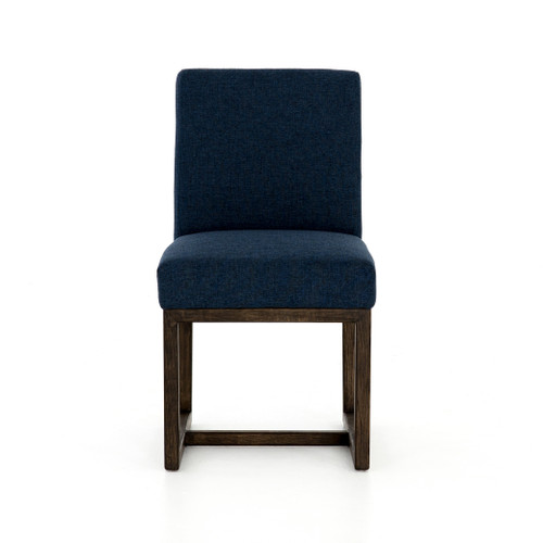 "35"" Four Hands Chase Dining Chair - Indigo - 1"
