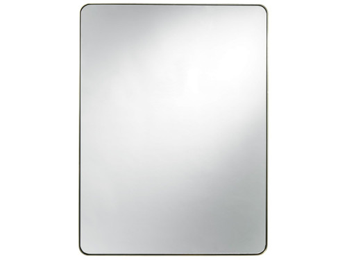 "48"" Universal Furniture Modern Accent Mirror - Brushed Brass - 1"