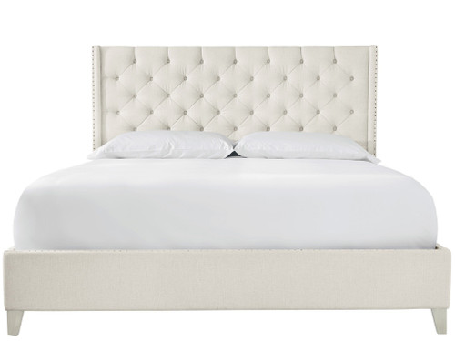 "88"" Universal Furniture Zephyr Panache King Bed - 1"