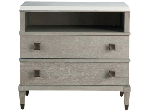 "32"" Universal Furniture Playlist Two Drawer Nightstand - 1"