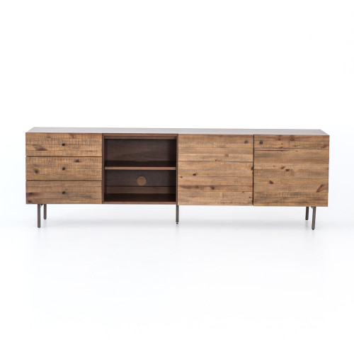 """26"""" Four Hands Harlan Media Console Cabinet - 1"""