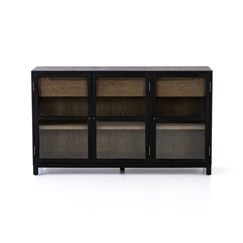 """35"""" Four Hands Millie Sideboard Cabinet - Drifted Black - 1"""