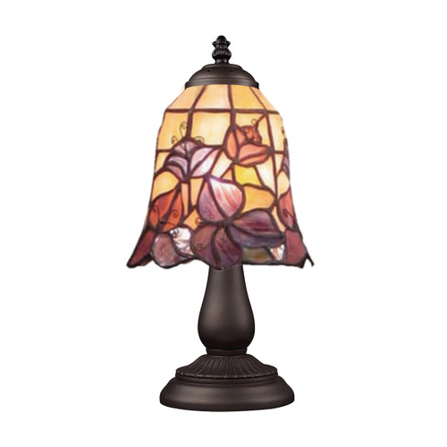 "13"" ELK Lighting Mix-N-Match Table Lamp in Tiffany Bronze, Traditional 8 - 1"