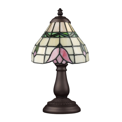 """13"""" ELK Lighting Mix-N-Match Table Lamp in Tiffany Bronze, Traditional 4 - 1"""