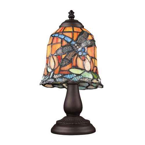 "13"" ELK Lighting Mix-N-Match Table Lamp in Tiffany Bronze, Traditional 6 - 1"