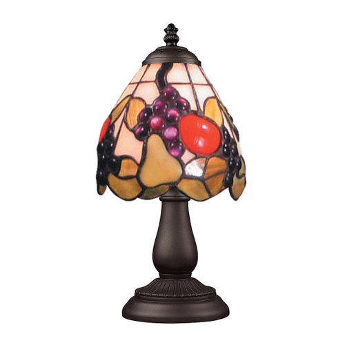 """13"""" ELK Lighting Mix-N-Match Table Lamp in Tiffany Bronze, Traditional 9 - 1"""