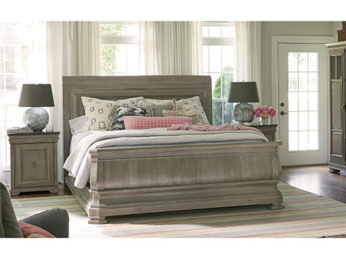 "93"" Universal Furniture Reprise Queen Sleigh Bed - 1"