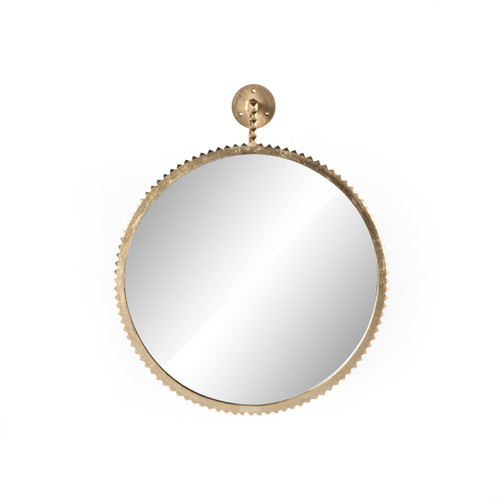 Cru Large Mirror - Aged Gold