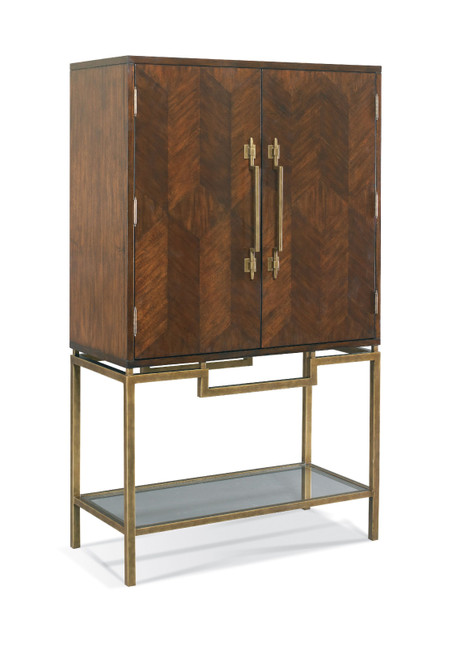 South Beach Collection Bar Cabinet