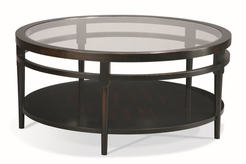 Contemporary Finish Prog Round Cocktail Table