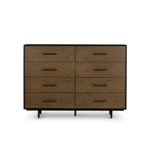 "42"" Four Hands August 8 Drawer Double Dresser - 1"