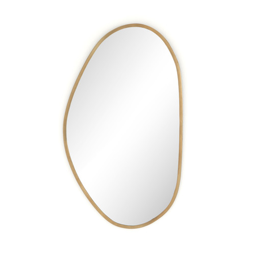 Brinley Mirror-Antique Brass