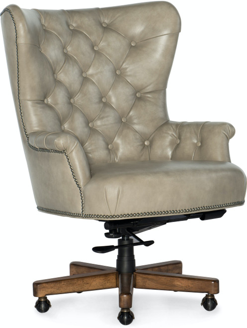 "40"" Hooker Furniture Home Office Issey Executive Swivel Tilt Chair - 1"