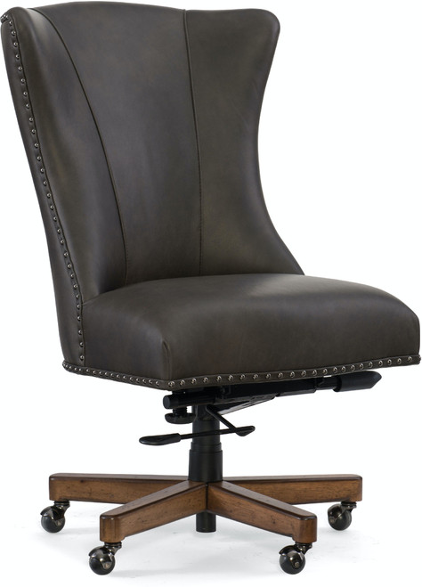 "42"" Hooker Furniture Home Office Lynn Executive Swivel Tilt Chair - 1"