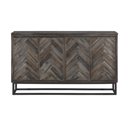 Aspen Court Four Door Media Credenza