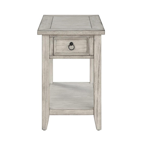 """24"""" Coast to Coast Accents 1 Drawer Chairside Table - 1"""