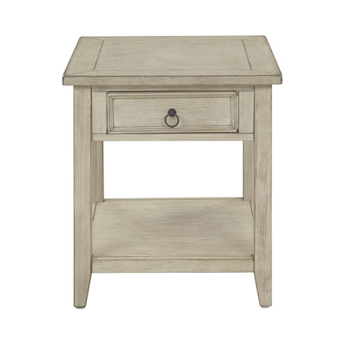 "24"" Coast to Coast Accents 1 Drawer End Table - 1"