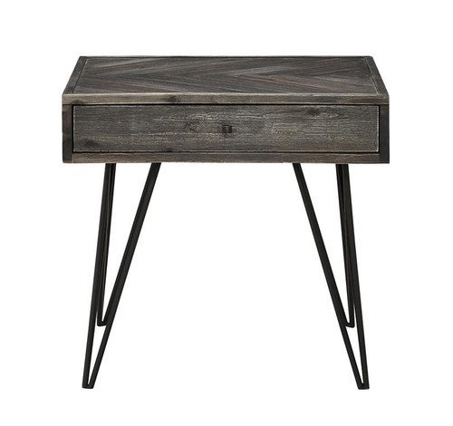 """24"""" Coast to Coast Accents 1 Drawer End Table 1 - 1"""