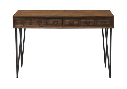 "31"" Coast to Coast Accents 2 Drawer Writing Desk - 1"