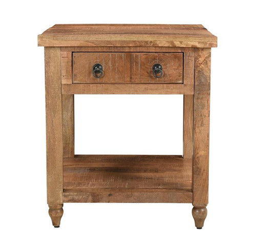 """26"""" Coast to Coast Accents 1 Drawer End Table - 1"""