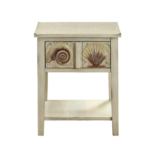 """24"""" Coast to Coast Accents 1 Drawer End Table 4 - 1"""