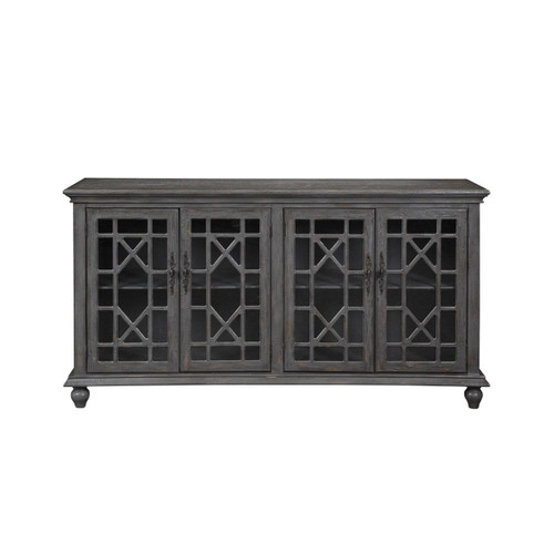 Four Door Media Credenza 38