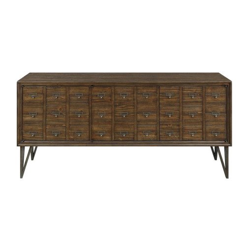 "30"" Coast to Coast Accents 3 Door Credenza Cabinet 1 - 1"