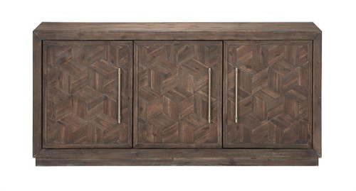 "30"" Coast to Coast Accents 3 Door Media Credenza Cabinet - 1"