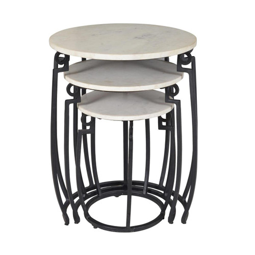 """25"""" Coast to Coast Accents 3 Tier Nesting Table - 1"""