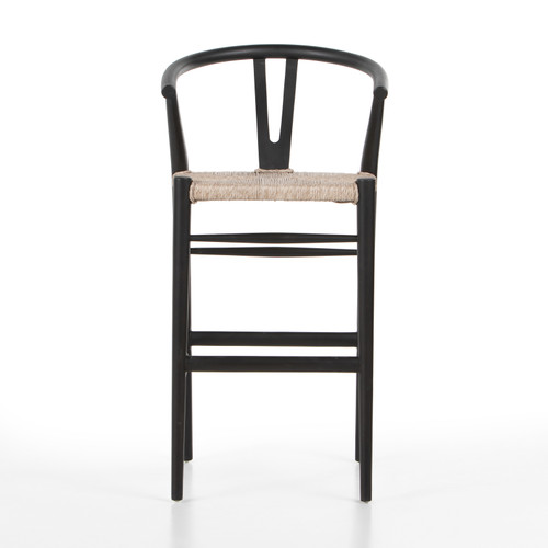 Muestra Bar + Counter Stool - Black Teak