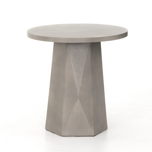 """22"""" Four Hands Bowman Outdoor End Table - 1"""
