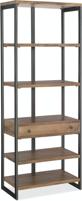 """80"""" Hooker Furniture Home Office Bookcase - 1"""
