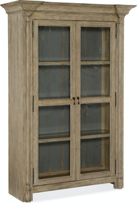 """80"""" Hooker Furniture Dining Room Ciao Bella Display Cabinet - Natural - 1"""